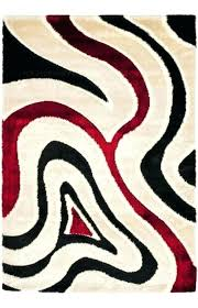 red black and white area rugs red black area rugs and red black