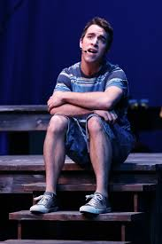 paul schlegelmann photojournalism capturing the world around me cameron graham as mickey one of the twin brothers sings his heart out in a melancholy lament during the musical the blood brothers