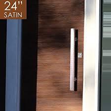 modern front door handlesAmazoncom Pull Push 24 Handles for Entrance Entry Front Door