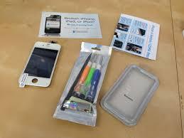 iphone repair kit. a diy iphone screen repair kit from icracked iphone