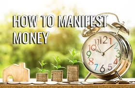 Image result for manifest money image - stop stress