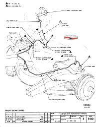 Section 5 brake pedal main cylinder instruction
