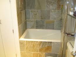 Small Tubs Shower Combo  Deep Soaking Tub Freestanding  Bathroom 4 Foot Tub Shower Combo