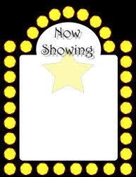 Film Picture Template Movie Film And Hollywood Designed Fun Templates