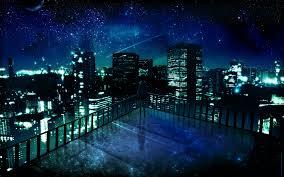 night anime scenery wallpaper. Unique Wallpaper Scenery Images Inside Night Anime Wallpaper G