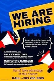 Employment Ad Template Job Offer Advertisement Template