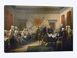 declaration of independence 1817 18 us capitol collection by john trumbull 1
