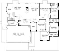 ... Four Bedroom House Plans There Are More 2179 Sqaure Feet 4 Bedrooms 2  Bathrooms 3 Garage ...
