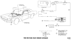 1968 mustang wiring diagrams evolving software defogger