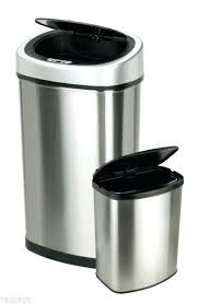 kitchen trash can with lid. Automatic Trash Can New Nine Stars Motion Sensor Set 2 Gallon Boy In . Kitchen With Lid I