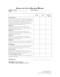 Resume Rubric Template Grading Rubric For Resume Writing Krida 13