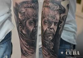 самые невероятные татуировки которые сделали себе омичи