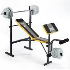 Best Full Powerhouse Weight Set Bench Press And Everlast Everlast Bench Press