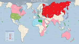 wwii map  timeline  thinglink