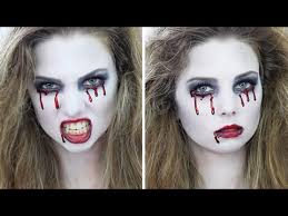 "Easy <b>Halloween</b> ""<b>Crying</b> Blood"" SFX Makeup Tutorial   DIY HOW TO ..."