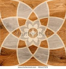 Porcelain Wood Floor Tiles Background Pattern Stock Illustration