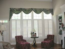 Window Treatments For Living Room Window Treatment Living Room Blue Wall Painting Decor Brown Blue