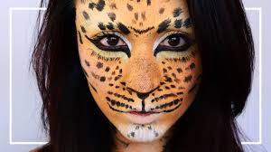 leopard cheetah makeup tutorial jubayna
