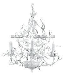 white wrought iron chandelier metal leaf supplieranufacturers at crystal chandeliers lighting h27 x w21