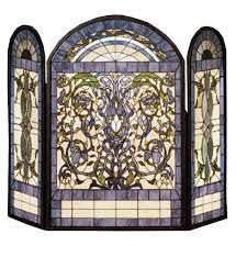 image of decorative fireplace screen ideas