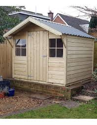 chalet garden shed with pressure treated timber steel roof and internal lining sizes 4x6ft up to 24x12ft contact us directly for diffe sizes