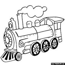 steam train colouring pages. Simple Train Steam Locomotive Train Online Coloring Page On Colouring Pages R