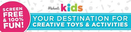 michaels kids screen free 100 fun
