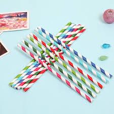25pcslot Burgundy Stripe Paper Strawscake Pop Sticks Mason Jar
