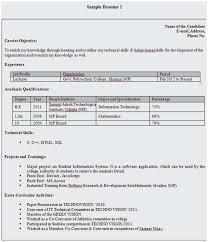 25 Scheme Sample Resume For Bank Jobs Freshers Pics Arkroseprimary Org