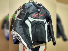 unbeatenracers a series alpinestar celer motorbike leather jacket red blue