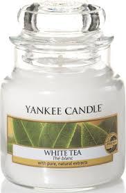 """Ароматическая <b>свеча</b> Yankee Candle """"<b>Белый чай</b> / WhiteTea"""", 25 ..."""