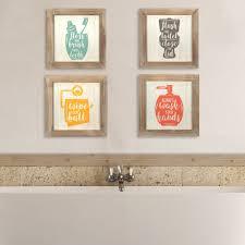 stratton home decor bath wall art