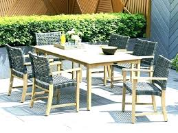 outdoor wicker dining chairs home depot settings creative patio chair set resin table elegant