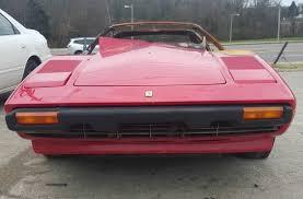 1978 ferrari 308 gts gaa february (2020) lot #fr0050: Burn Victim 1978 Ferrari 308 Barn Finds
