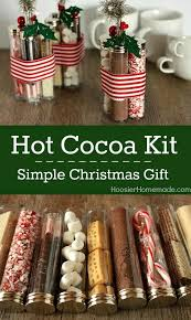 This Hot Cocoa Kit is not only a simple Christmas gift ideait's also a