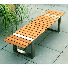 Small Picture Garden bench contemporary wooden BOCA by Cristian Wicha