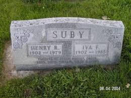 Iva Florence Suby (Kirk) (1902 - 1985) - Genealogy