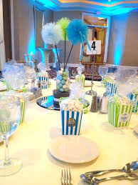 baby boy shower centerpieces for tables by table decoration ideas appealing homemade decorations centerpiece diy sho