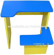 kids desk with attached chair a charming light kids reading table kids desk with attached chair