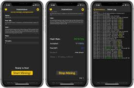 How does this bitcoin miner work? Hands On Mobileminer How To Mine Cryptocurrency On An Iphone Video 9to5mac