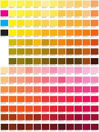 Photoshop Color Chart Cmyk Color Code Charts Pantone Color Graphic Design