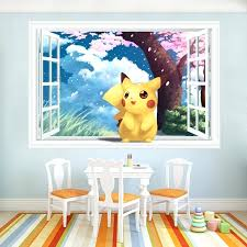 fake window wall decals as well as baby anime vinyl wall decals fake window stickers kids
