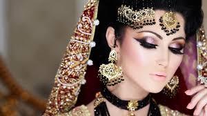 regal bride by naeem khan i wedding makeup i braided hairstyles i bridal mehndi i video dailymotion