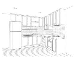 interior design kitchen drawings. Delighful Interior Download Interior Design Kitchen Stock Illustration Illustration Of  Concept  77612369 In Design Kitchen Drawings