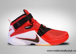 lebron red shoes. 2017 women / men nike lebron soldier ix cavs red shades of shoes size:5.5,6.5,7