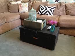 full size of coffeetable trunk as coffee table the baeza blog diy looking for storage trunks