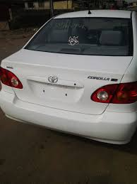 White Tokunbo Corolla 2003 For Sale At The Best Price - Autos ...