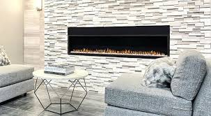 glass tile fireplace blue surround