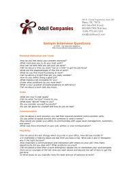Interview Questions About Success Sample Interview Questions