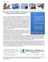 Legal Punchlist | Harmon & Davies, P.c.